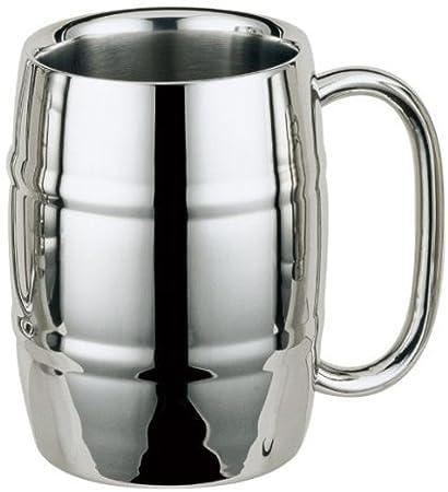 Mug barrel Stainless Steel 16oz1 MugCoffee Beer j54cARSLq3