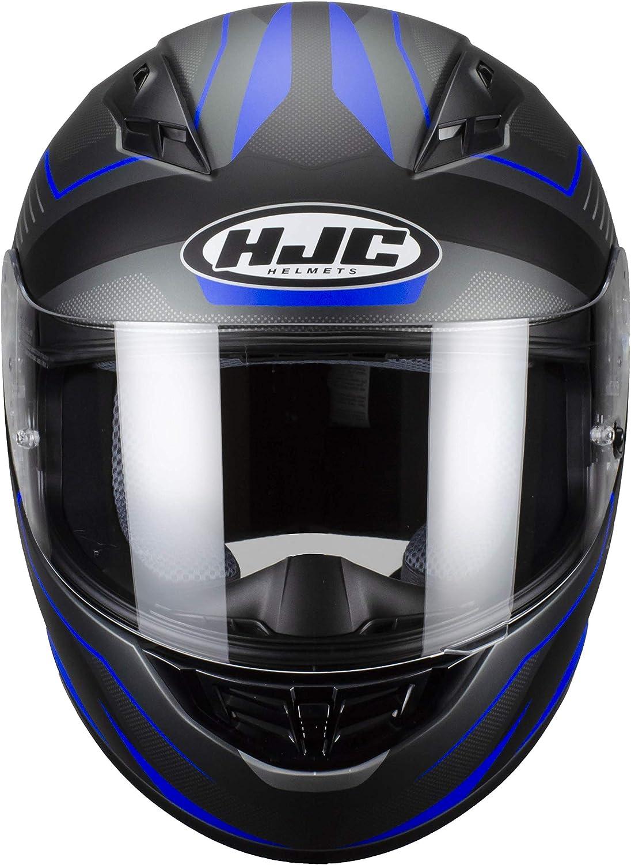 XL Noir//Gris//Jaune FLUO Casque moto HJC CS 15 TRION MC3HSF