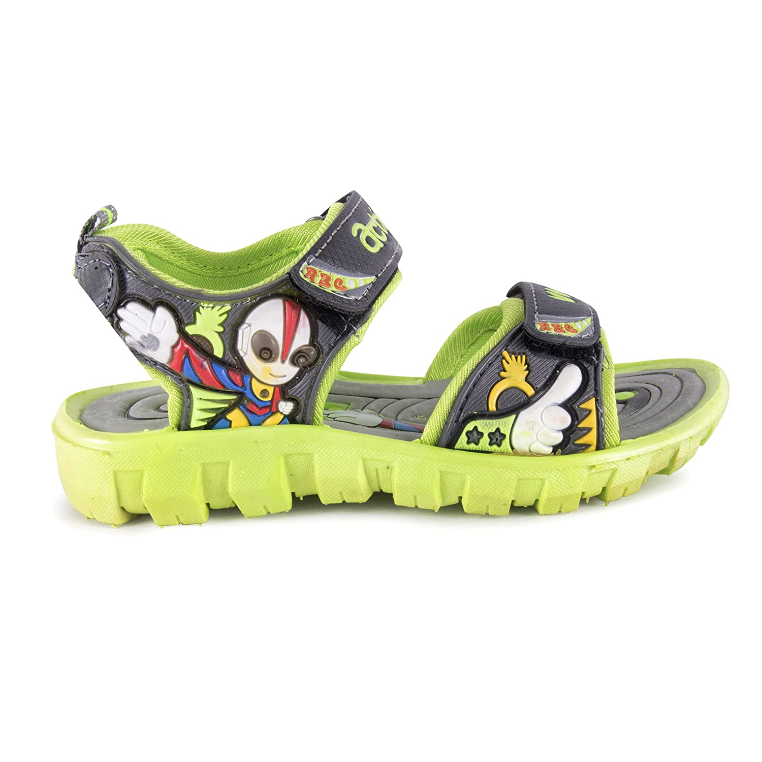 2ca3fe5853f0c Action Shoes Blue-Yellow Sandals KS-123-BLUE-YELLOW  Amazon.in  Shoes    Handbags