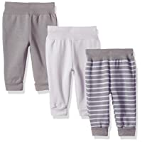Ultimate Baby Flexy 3 Pack Adjustable Fit Fleece Joggers