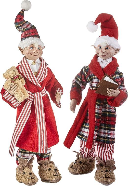 Ropa De Cama Navidad Amigo Elfo Santa Cojín
