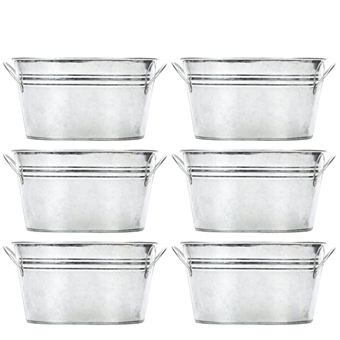 Top 10 Hosleys Galvanized Beverage Tub With Handles