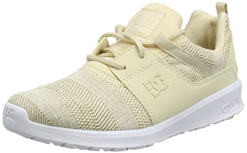DC Shoes Heathrow TX SE, Zapatillas para Mujer, Beige (Taupe TAU), 39 EU