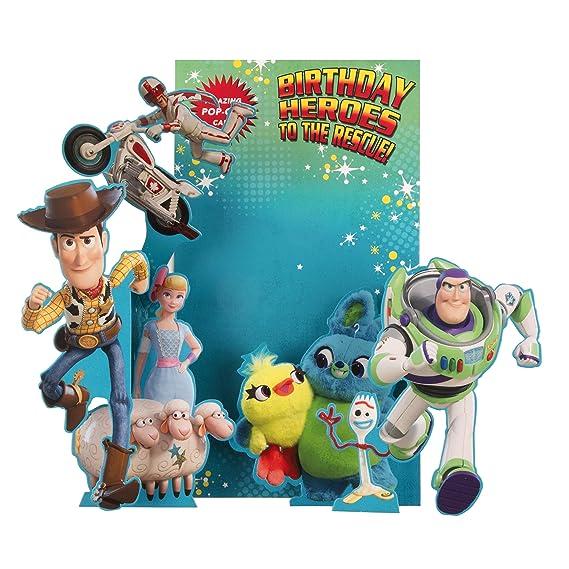 Tarjeta de cumpleaños de Toy Story para niños de Hallmark ...