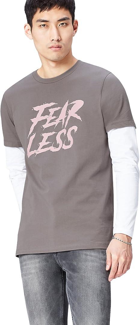 FIND T-shirt a Manica Lunga Uomo