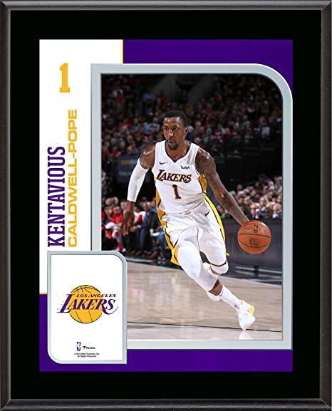 287c24e3a Kentavious Caldwell-Pope Los Angeles Lakers 10.5 quot  x 13 quot   Sublimated Player Plaque -