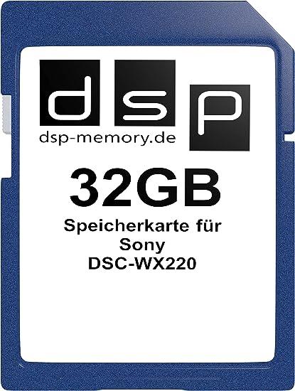 Dsp Memory 32gb Speicherkarte Für Sony Dsc Wx220 Computer Zubehör