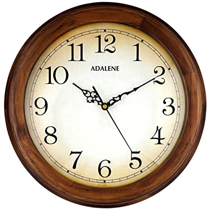 Amazon.com: Adalene Wall Clocks Large Decorative For Living Room ...
