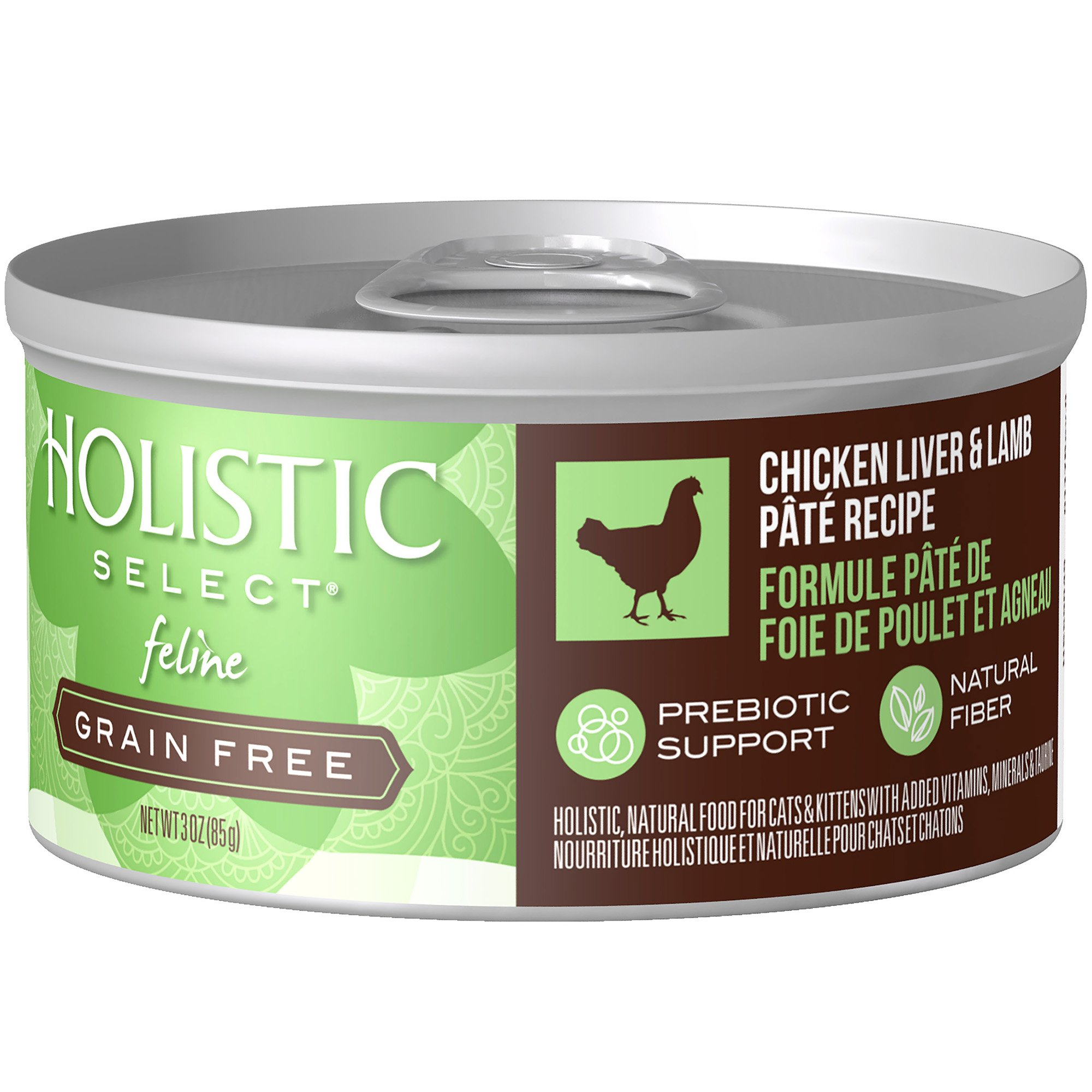 Holistic select natural wet grain free canned cat food chicken holistic select natural wet grain free canned cat food chicken liver lamb pt recipe 3 ounce can pack of 24 forumfinder Image collections