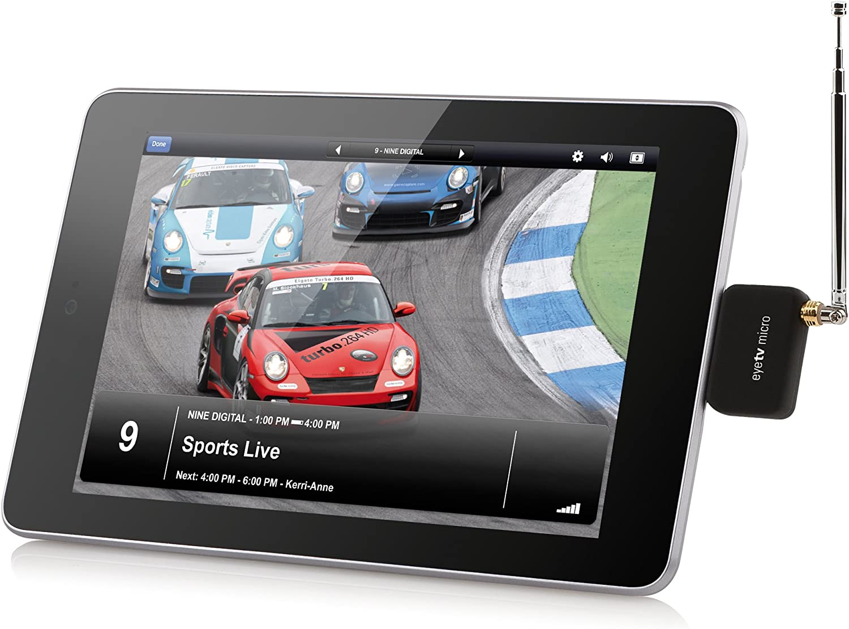 Geniatech EyeTV Micro - Sintonizador de televisión para dispositivos Android (Micro USB), negro