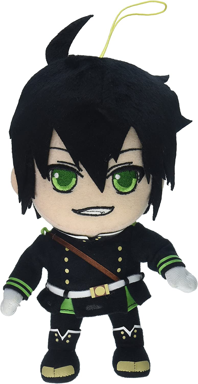 Anime Seraph Of The End Mikaela Hyakuya Handmade Toy Hanging Plush Doll Material