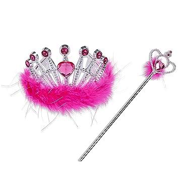 Elfenprinzessin gro/ß Pink Liontouch 25107 Queen Crown Queen Rosa // Krone