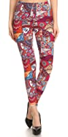 Same Mind Inc Luxurious Quality Hot Trendy Printed Leggings-Variety of Designs