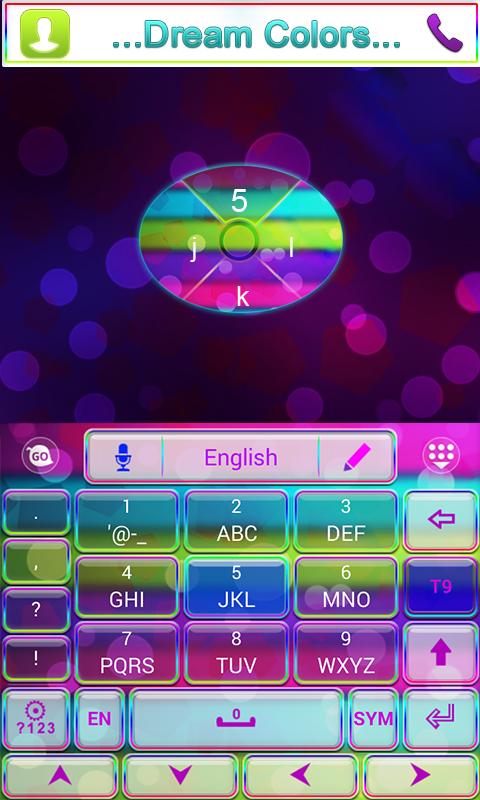 Dreamcolors GO Keyboard Theme &Emoji