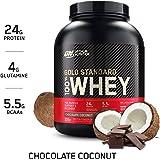 Optimum Nutrition Gold Standard 100% Whey Protein Powder, Chocolate Coconut, 5 Pound