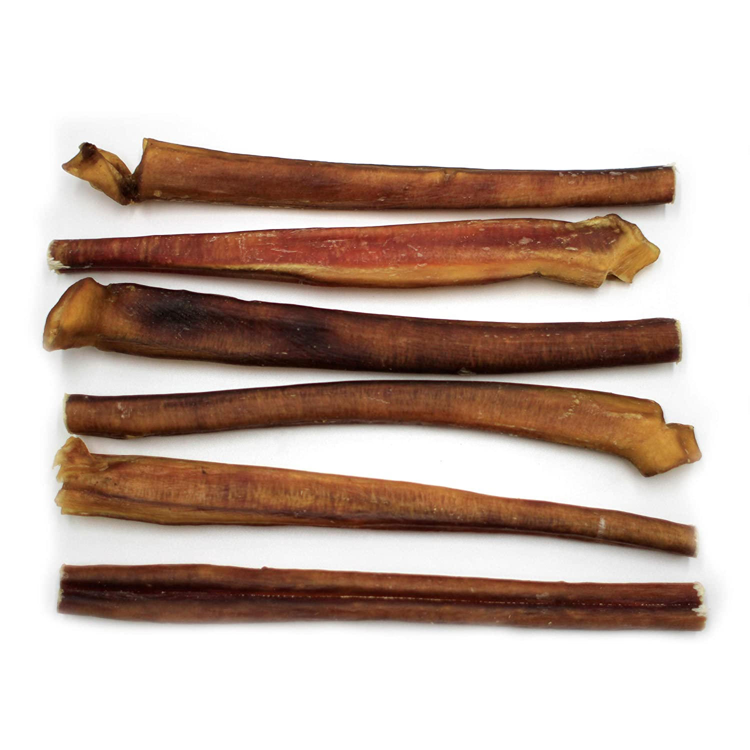 100/% Natural Long Lasting Chews for Large Dogs Nature Gnaws Jumbo Bully Sticks