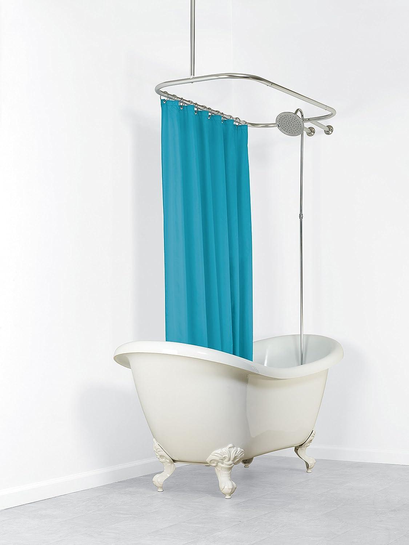 Amazon.com: Zenna Home 34941SS, NeverRust Aluminum Hoop Shower ...