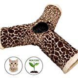 Easyology 3 Way Cat Tunnel, Built-in Crinkle, Interactive Fun, Play Toy, Collapsible Tube, For More Fun Attach This to our Zen Den and Our Other Pet Friendly Tunnels
