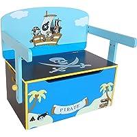 Kiddi Style Caja Almacenaje Juguetes + Banco