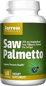 Jarrow Formulas Saw Palmetto, Promotes Prostate Health, 60 Softgels