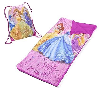 5a8ae569e5e Amazon.com  Disney Princess Slumber Bag Set  Toys   Games