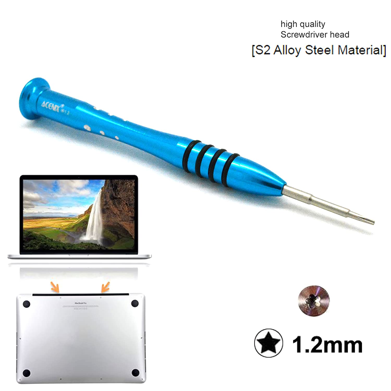Destornillador Pentalobe 5 Puntas 1.2 para Macbook Pro, Air, Retina ...