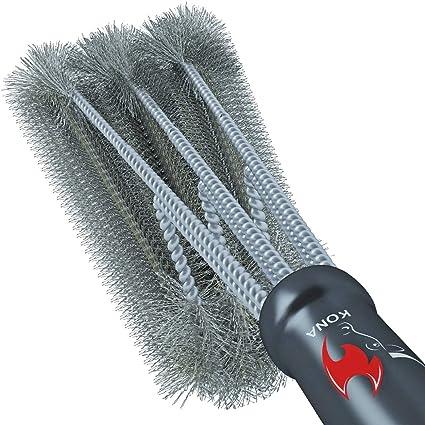 Amazon.com: Cepillo para parrilla con limpieza 360° Kona ...