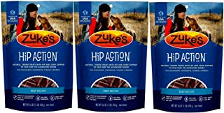 product image for Zuke's Hip Action with Glucosamine and Chondroitin 3 Packs Beef (3 lb)