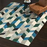 Rivet Modern Chevron Wool Runner Rug