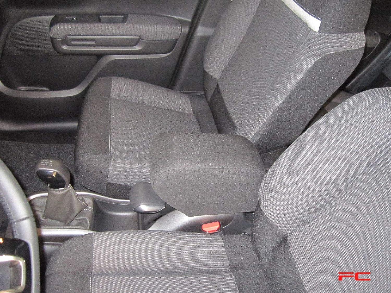 Grey automotive fabric Filocar Design armrest Citroen C3 Aircross