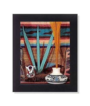 Southwestern Native American Indian Pottery 3 Black Framed 8×10 Art Print