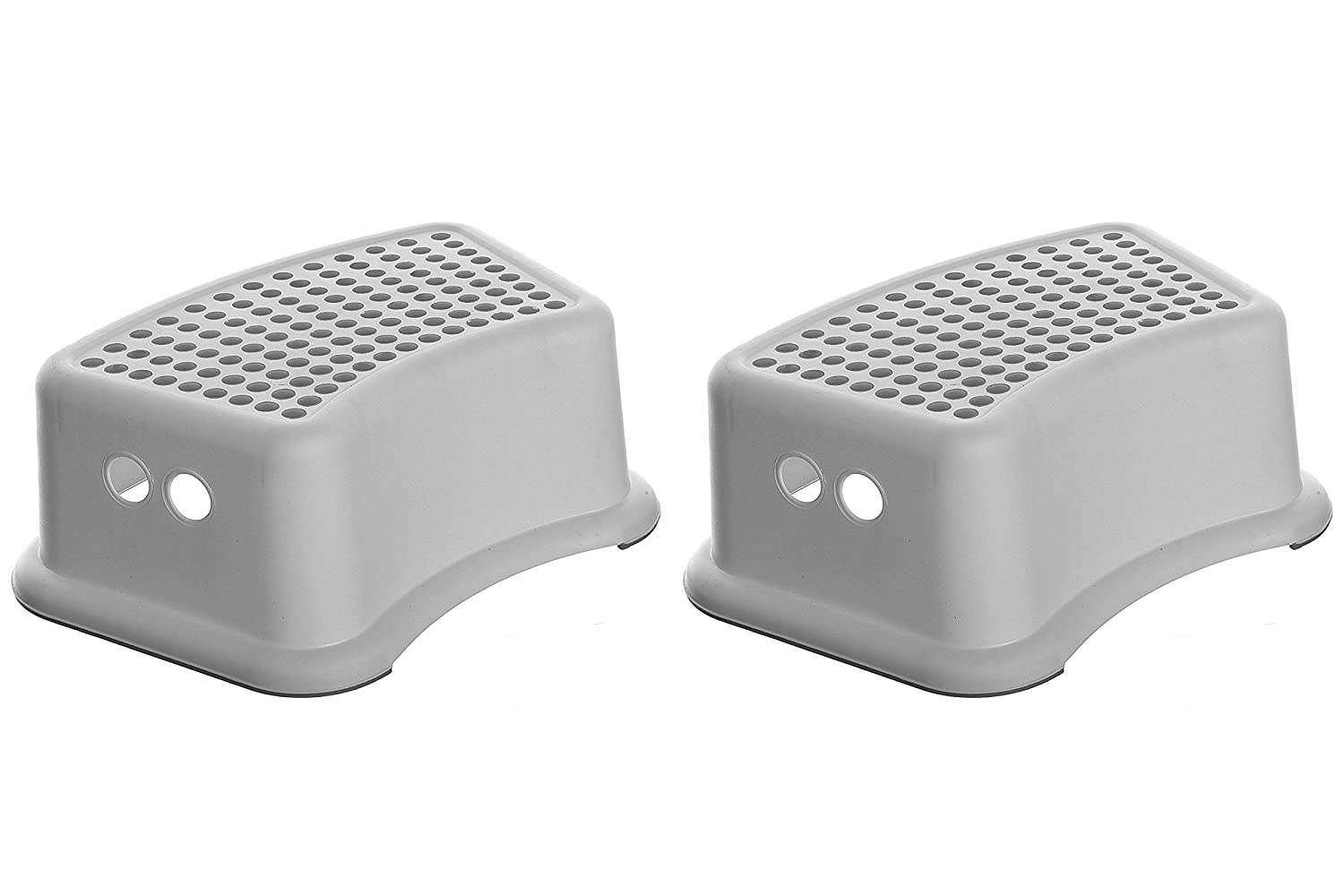 Pack of 2 Grey Dots Dreambaby Step Stool