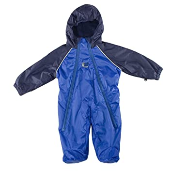 9186fa897c75 Bushbaby Hot Tot Snowsuit Royal Blue Navy 2-3yrs  Amazon.co.uk  Baby