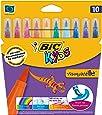 BIC Kids Visaquarelle Feutres de Coloriage - Etui Carton de 10