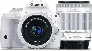 Canon EOS Kiss X7 (100D,REBEL SL1)white,EF-S18-55mm F3.5-5.6 IS ,EF40mmF2.8