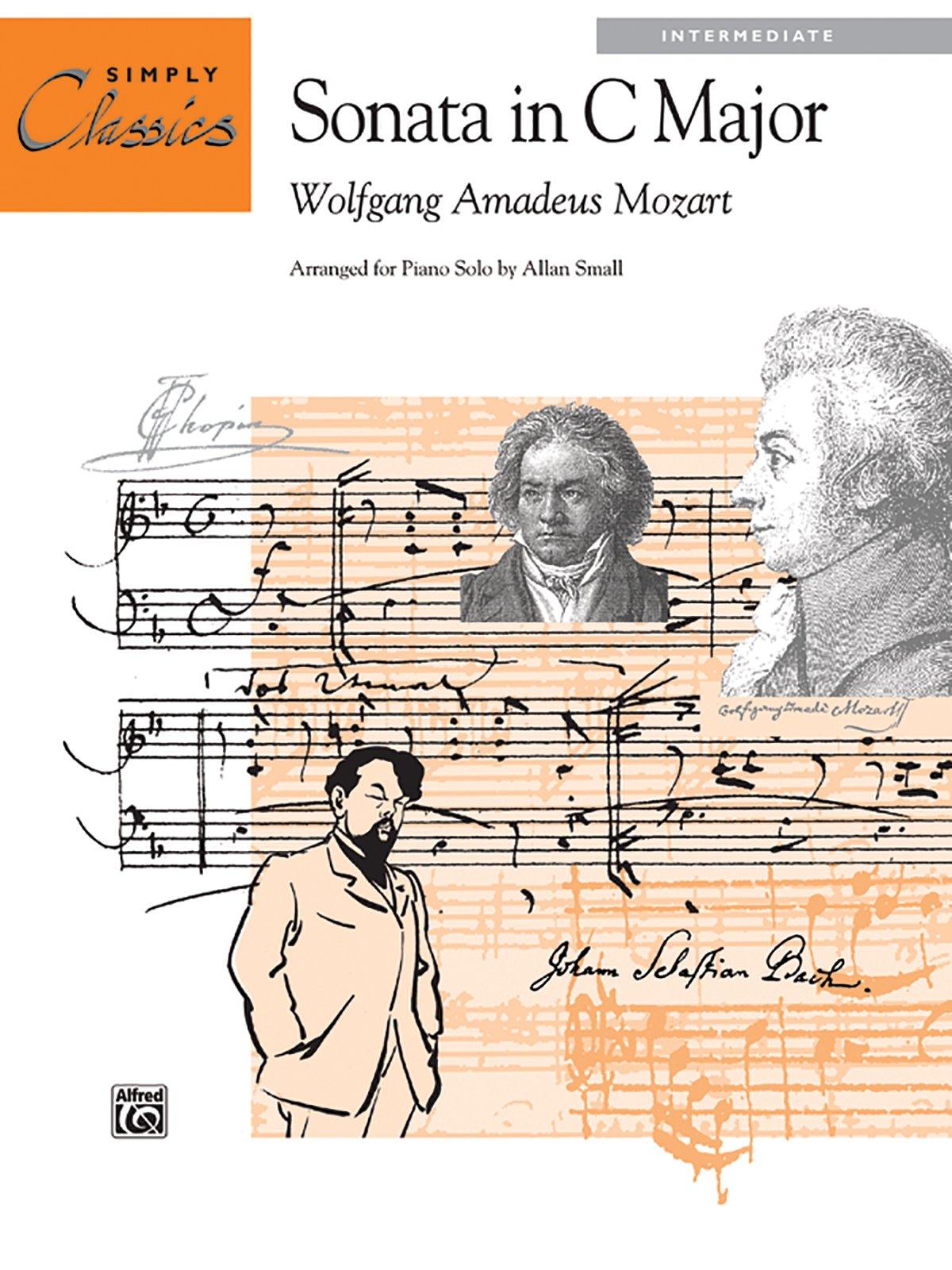 Theme from Sonata in C Major, K. 545: Sheet (Simply Classics Solos):  Wolfgang Amadeus Mozart, Allan Small: 0038081153759: Amazon.com: Books