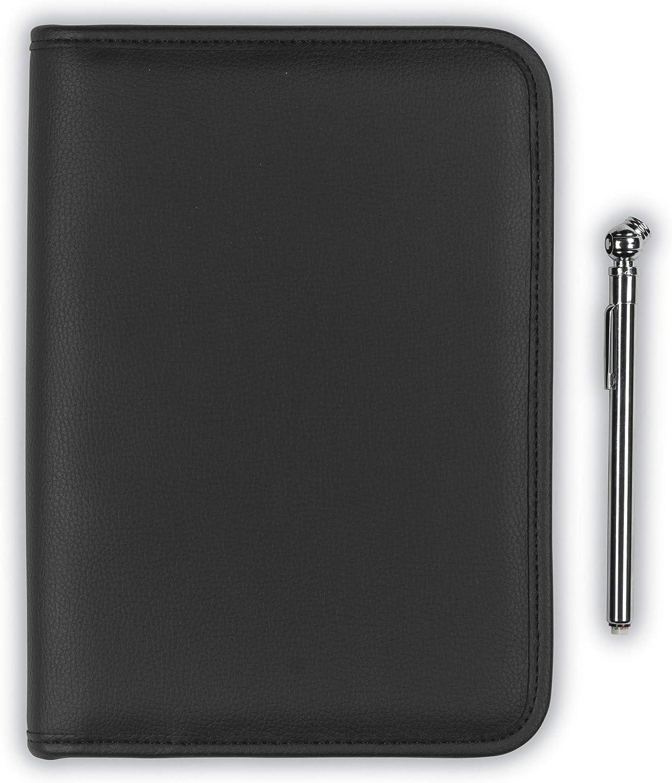 Samsill Glove Box Organizer, Zipper Car Organizer - Owner's Manual, Car Document Holder, Black
