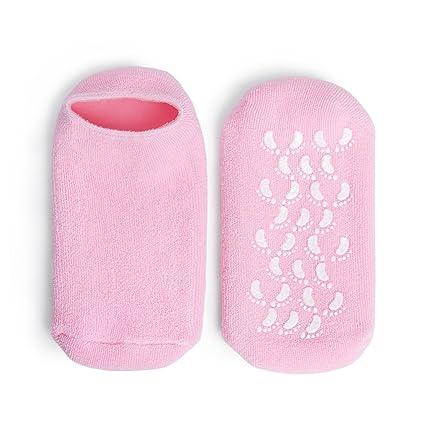 Calcetines gel hidratante | Calcetines spa | Calcetines hidratantes en gel | Tratamiento cuidado de pies