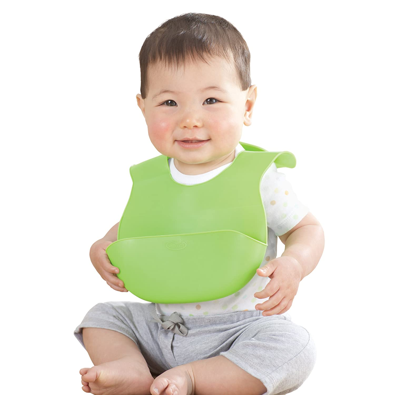 Summer Infant Bibbity Rinse And Roll Bib Green 1 Pack Amazonca Baby