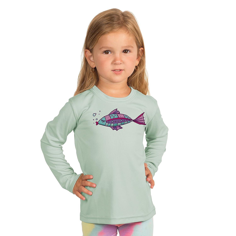 Performance T-Shirt Vapor Apparel Kissing Fish Toddler UPF 50