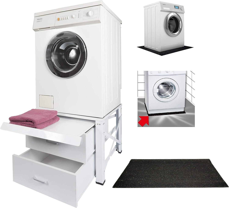 Base della lavatrice 40cm con ripiano