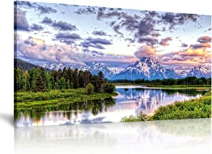 Mountain Wall Art-Landscape Painting Mountain Wall Decor Landscape Wall Art Nature Canvas Wall Art Nature Pictures for Wall Paintings for Wall Decorations Home Office Decor 20