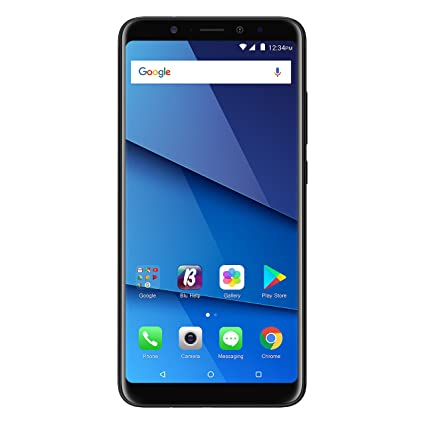 "BLU Vivo XL3 Plus - 6 0"" HD+18:9 Display Smartphone with Qualcomm  Snapdragon – Black"