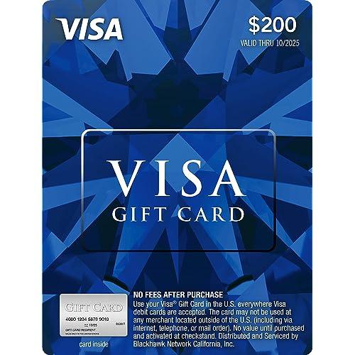 200 Visa Gift Card Plus 695 Purchase Fee