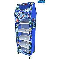 LookNSnap Multipurpose Toy Box Kids Folding Wardrobe - 6 Shelves