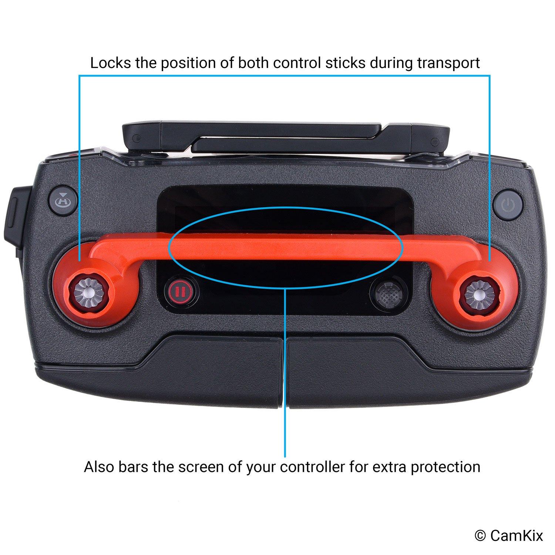 verrous dh/élice et extensions de jambes de CamKix pour DJI Mavic Pro Fixe la position les b/âtonnets de contr/ô protecteur de t/él/écommande Pare-soleil Bloque la lumi/ère exc/édentaire Plus de garde au sol