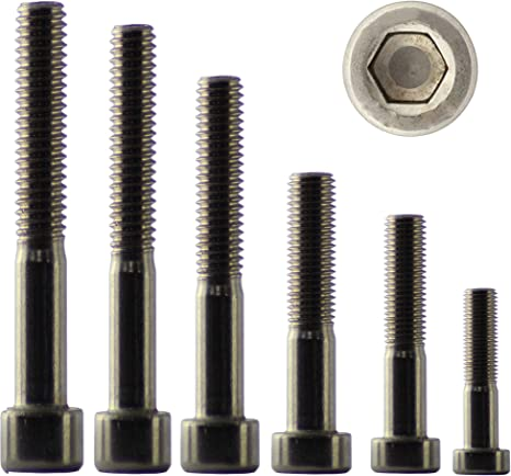 3/x 12 mm Lot de 100/vis 6/pans creux en acier inoxydable M3