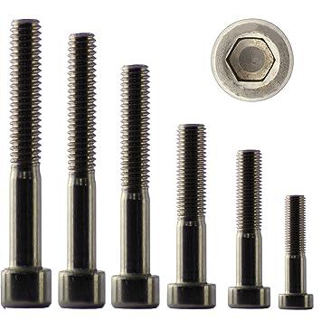 Zylinderschrauben mit Innensechskant DIN 912 Edelstahl V2A  M1.6  M2  M2,5  M3