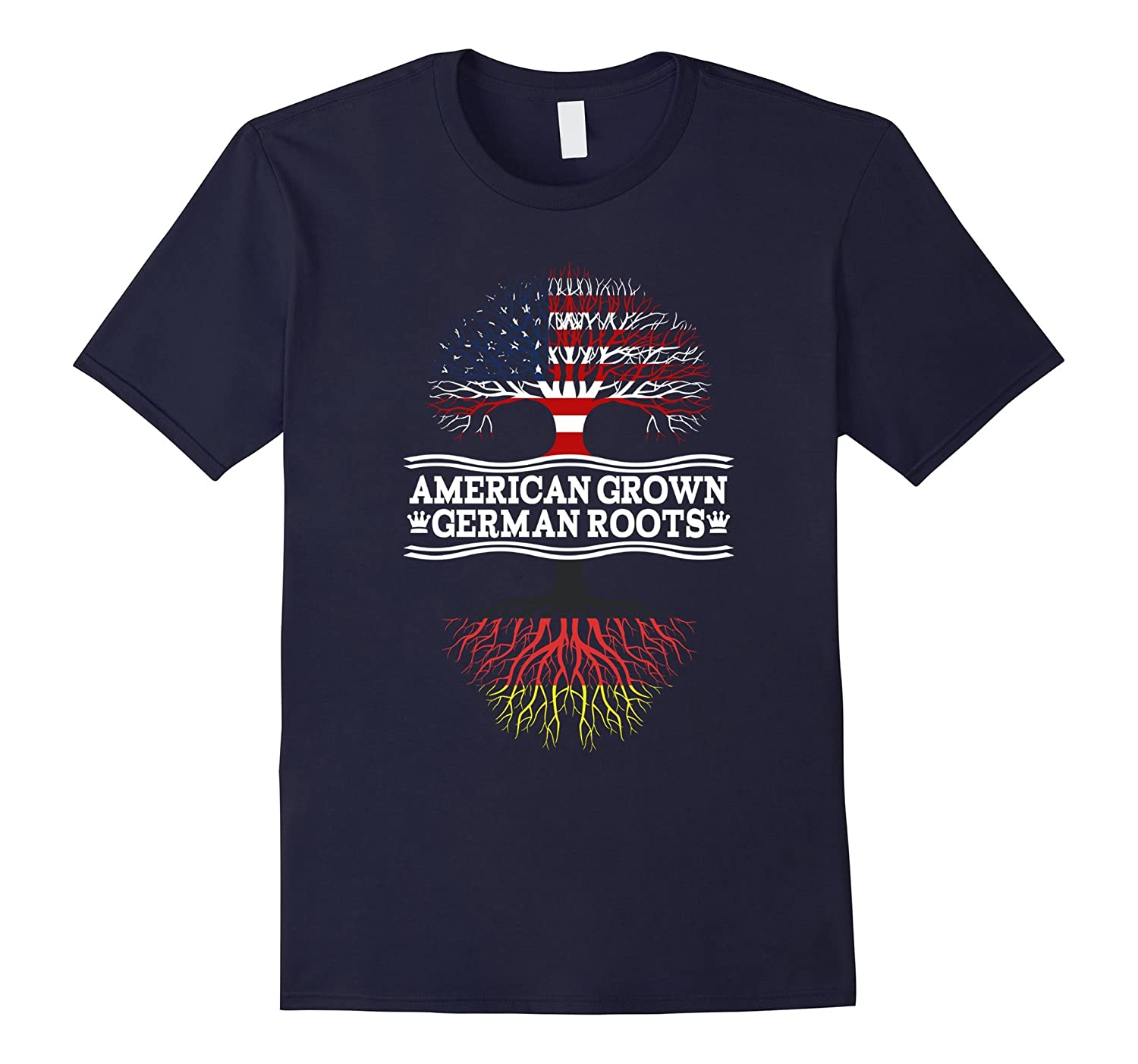 American Grown With German Roots Awesome Shirt Germany-CD