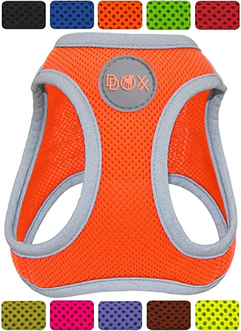 DDOXX Arnés Perro Step-In Air Mesh, Ajustable, Reflectante ...